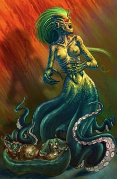 Equidna, a mãe de todos os monstros
