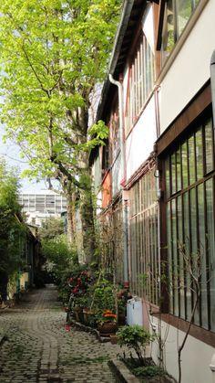 La Cité Verte - 147 rue Léon Maurice Nordmann, Paris <--- Next time I go! Architecture Parisienne, Paris Architecture, Paris City, Paris Street, Paris 13eme, Paris France, City Ville, Paris Travel Tips, Paris Design