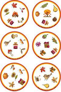 Jesenné dobble na spríjemnenie jesenných dní - Nasedeticky.sk Kindergarten, Preschool Classroom, Montessori, Board Games, Decorative Plates, Seasons, Kids, Tongue Twisters, Games