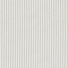 Linum Camargue Grey Stripe Fabric