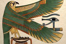 Horus | Ancient Egyptian Falcon Art Print