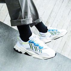 nett adidas Originals Ozweego Sneaker Herren Weiss zu