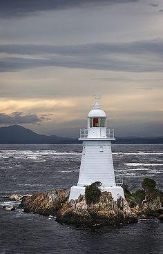 Macquarie Harbour Lighthouse - Tasmania, Australia