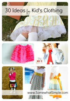 Sew Adorable- 30 Handmade Clothes for Kids