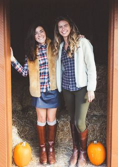 Classy Girls Wear Pearls: Apples, Pumpkins, and Friends for the Picking