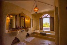 Matemwe Retreat bathroom, Zanzibar
