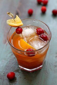 Cranberry Old-Fashio