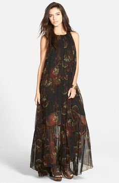 Free People 'Juno' Maxi Dress available at #Nordstrom