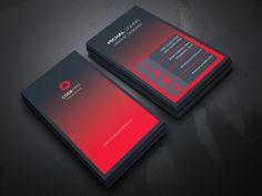 Creative Business Card by Jihadraj Professional Business Card Design, Modern Business Cards, Business Card Logo, Creative Business, Id Card Design, Design Design, Graphic Design, Bussiness Card, Business Illustration