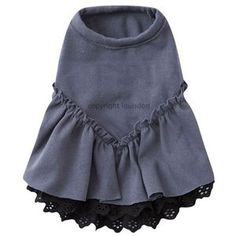 Louis Dog Victoria Dress in Smoky Grey- Shop By Designer - Louis Dog Collection - Clothes Posh Puppy Boutique Pet Fashion, Animal Fashion, Dog Accesories, Rhinestone Dog Collar, Pet Clothes, Dog Clothing, Designer Dog Clothes, Pet Boutique, Dog Sweaters