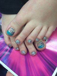 Toes for my junior prom! :) 2014
