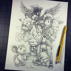 Lost Royalty Kind of late, but I felt I needed to do it proper. I'm grateful to have such kind support from so many of you! It's crazy and amazing and gives me plenty to do. Pokemon Gif, Pokemon Sketch, Pokemon Photo, Pokemon Fan Art, Cute Pokemon, Pokemon Team, Save Instagram Photos, Cartoon Sketches, Anime Kawaii
