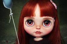 Penny Blythe custom art ooak doll & Pullring by JevrieslovesJodie