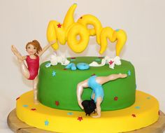 Little Acrobats - Cake by yael
