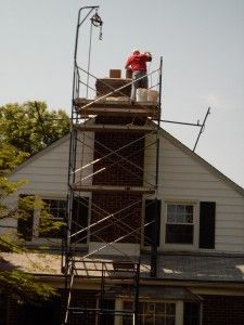 Call 410.838.8519 for Harford County chimney masonry repair. We also do masonry repairs in Baltimore County and Carroll County.