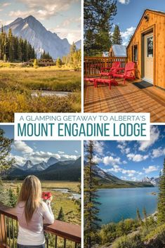 Mount Engadine Lodge in Kananaskis is one of the best places to go glamping in Alberta, with fabulous accommodations and dining in a backcountry setting. Backpacking Canada, Canada Travel, Backpacking Tips, Alberta Travel, Canada Holiday, Best Ski Resorts, Go Glamping, Visit Canada, Glamping