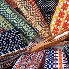 Saterglantan weavings.