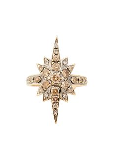 $3,600 H.Stern Noble Gold Stars Collection Ring - H.Stern 18k Noble Gold Stars Collection Diamond Ring. SUPER pretty!