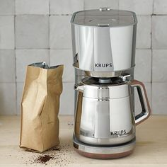 My sister and I said we weren't going to get eachother gifts for Christmas but I really want to get her this- Krups Coffee Maker