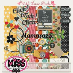 FREE With Love Studio's Blog/Facebook Hop : Mamarazzi mini by Kelsey {Inspired} Studios