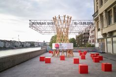 HHF Architects Design Moving Pavilion for ZeitRäume in Basel