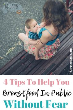 Breastfeeding In Public | How To Make Breastfeeding In Public Easier | This Little Nest