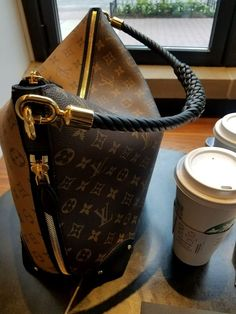 13220d869b78 LV Triangle Softy with Starbucks Incredible louis vuitton handbags authentic  or designer LV handbags then Click