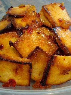 Sweet & Sour Honey Lemon Tofu - lots of good tofu recipes on her blog!!