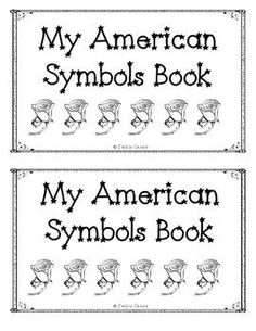 American Symbols Beginning Reader with Word Cards Reading Resources, Reading Activities, Educational Activities, Guided Reading, Literacy Stations, Literacy Centers, Kindergarten Literacy, English Language Learners, Language Arts
