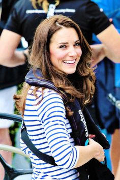 Duchess of Cambridge, Kate Middleton at a boat race on trip down under.