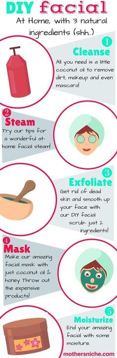 Easy DIY Facial at Home