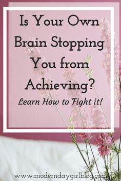 Learn to fight back against your own brain. Mental health, anxiety and depression