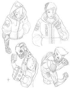 Письмо «Мы нашли новые пины для вашей доски «предметы».» — Pinterest — Яндекс.Почта Character Sketches, Character Design References, Character Drawing, Character Concept, Robot Concept Art, Armor Concept, Arte Robot, Arte Cyberpunk, Cyberpunk Character