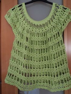 Blusas tejidas a crochet paso a paso - Imagui
