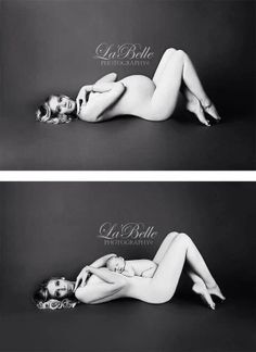 Maternity Photos - not sure about being naked but this is so cute!