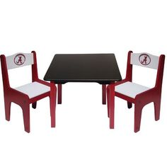 Fan Creations NCAA Kids Table and Chair Set