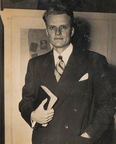 "Evangelical Christian evangelist William Franklin ""Billy"" Graham, Jr. was born on November 7, 1918."