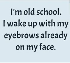 Sorry... not down with doin my eyebrows. The way these girls do them these days look ridiculous