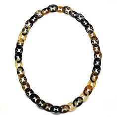 QueCraft Horn Chain Necklace - Q11141