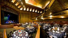 The Wiltern Theatre offers General Admission capacity of 2,300 and banquet or theater seating capacities 1,875.