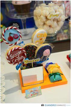 Pirulito de Bolacha - Candy Crush