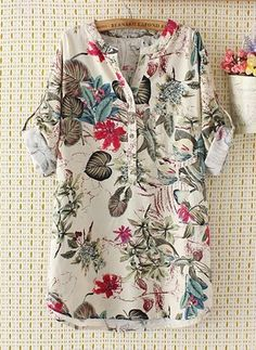 Latest fashion trends in women's Blouses. Shop online for fashionable ladies' Blouses at Floryday - your favourite high street store. Collared Shirt Dress, Blouse Dress, Long Blouse, Blouses For Women, Ladies Blouses, Women's Blouses, Jean Skirt Outfits, Curvy Dress, Pakistani Dress Design
