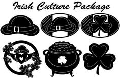 Irish Culture - DXF files Cut Ready CNC Designs - DXFforCNC.com