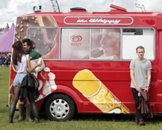 Festival goers are pictured during the Hackney Weekend festival at Hackney Marshes in east London