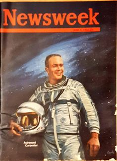 Newsweek Magazine with Astronaut Gordon Cooper from June 4, 1962 by CnWsTexasTreasures on Etsy