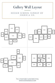 4 Easy Steps to Start Curating Your Wall Decor - Design School Sunday - Sigrid & Co. Photo Wall Decor, Family Wall Decor, Wall Decor Design, Frame Wall Collage, Frames On Wall, Wall Photo Collages, Wall Frame Layout, Picture Wall Collage, Picture Walls