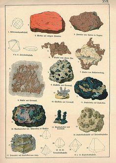 Pierres de gros caractères Antique 1878 par VintageInclination