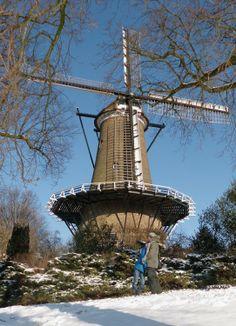 Flour mill De Groot / Molen van Piet, Alkmaar, the Netherlands.