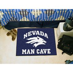 Nevada Wolf Pack NCAA Man Cave Starter Floor Mat (20in x 30in)