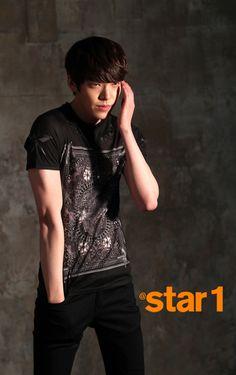 Kim Woo Bin - @Star1 Magazine March Issue '13